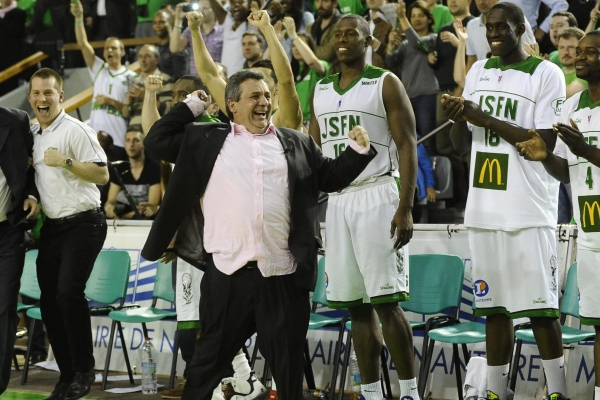 BASKET BALL : Nanterre vs Chalon – ProA  – Demi finale retour Play-off  – 22/05/2013