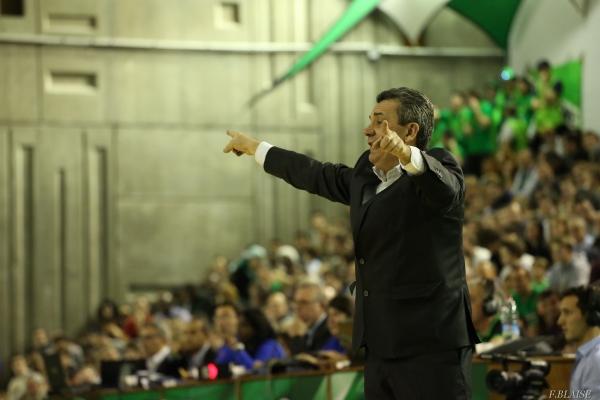2014 – Pascal Donnadieu dans son entre – le palais des sports de NAnterre